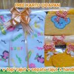 Hadiah Baby Gift Kado Lahiran Bayi Newborn Box Paket Jumper Bayi n Rajut Kuning