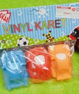 kado bayi murah set 3in1 pencetan bayi motif mobil vinyl karet (2)