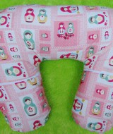 Kado Lahiran Bayi Terbaik Bantal Menyusui atau Nursing Pillow motif boneka kokeshi jepang
