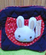 kado lahiran bayi baby gift tas perlengkapan bayi kelinci lucu navy polka