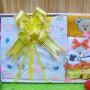 FREE KARTU UCAPAN Kado Lahiran Paket Kado Bayi Newborn Baby Gift Box Full Package Sock White Kuning