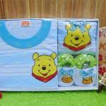 FREE KARTU UCAPAN kado bayi lahiran baby gift hadiah box paket karakter winnie the pooh biru