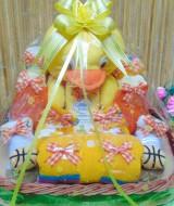 TERLARIS paket kado bayi baby gift parcel bayi parcel kado bayi kado lahiran rajut komplit ANEKA WARNA (3)