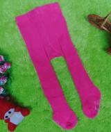 kado bayi celana panjang bayi rajut legging cotton rich lembut baby 6-12bulan anti slip polos pink