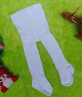 kado bayi celana panjang bayi rajut legging cotton rich lembut baby 6-12bulan anti slip polos putih