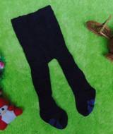 kado bayi celana panjang bayi rajut legging cotton rich lembut baby newborn 0-6bulan anti slip polos biru dongker