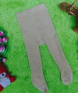 kado bayi celana panjang bayi rajut legging cotton rich lembut baby newborn 0-6bulan anti slip polos cappuccino