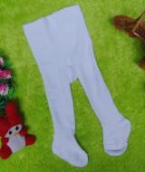 kado bayi celana panjang bayi rajut legging cotton rich lembut baby newborn 0-6bulan anti slip polos putih