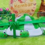 FREE KARTU UCAPAN hadiah lahiran kado bayi baby gift set topi sepatu newborn new born 0-6bulan motif kodok keroppi