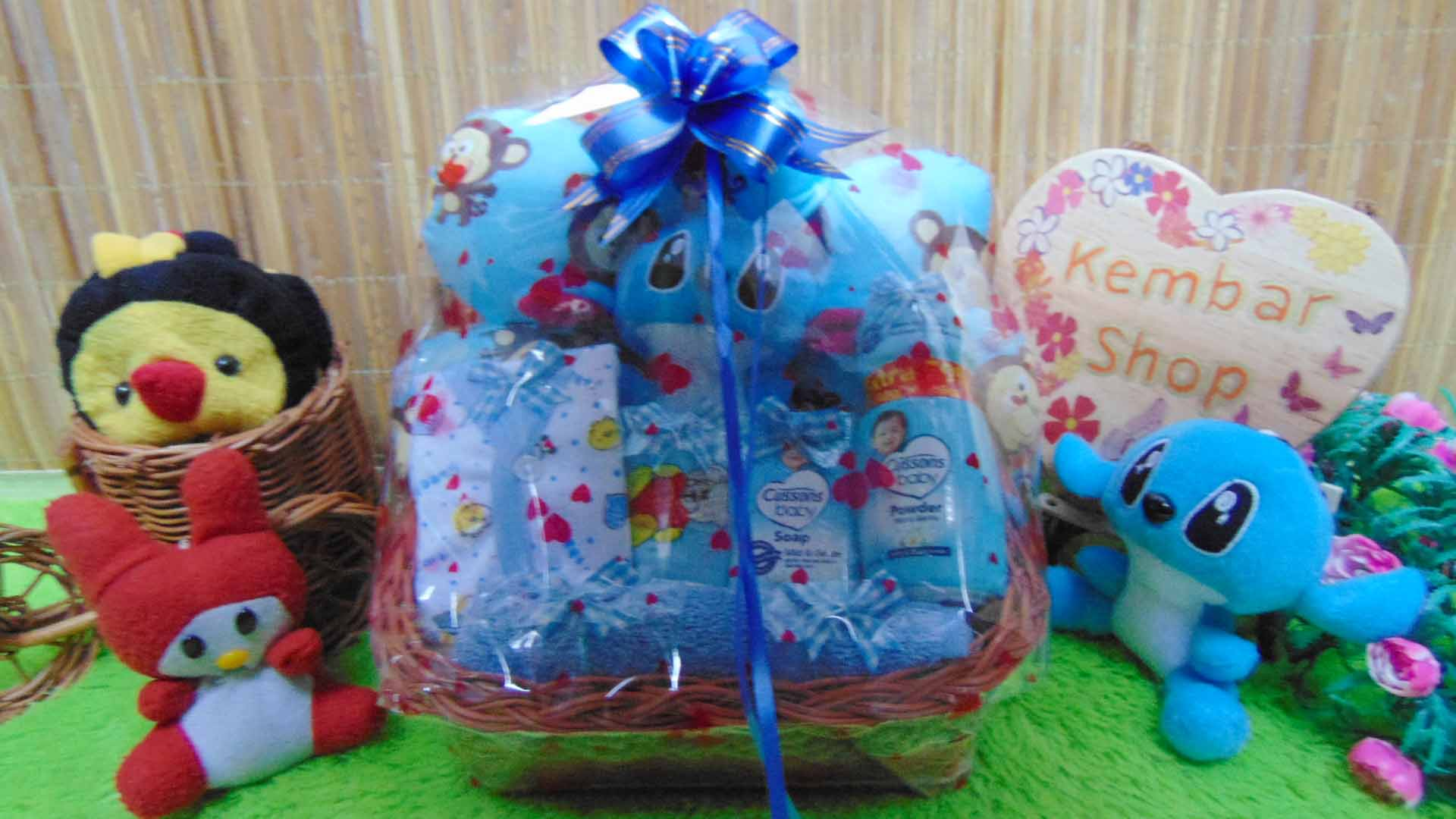 TERLARIS paket kado bayi baby gift parcel bayi parcel kado bayi kado lahiran awan komplit ANEKA WARNA (1)