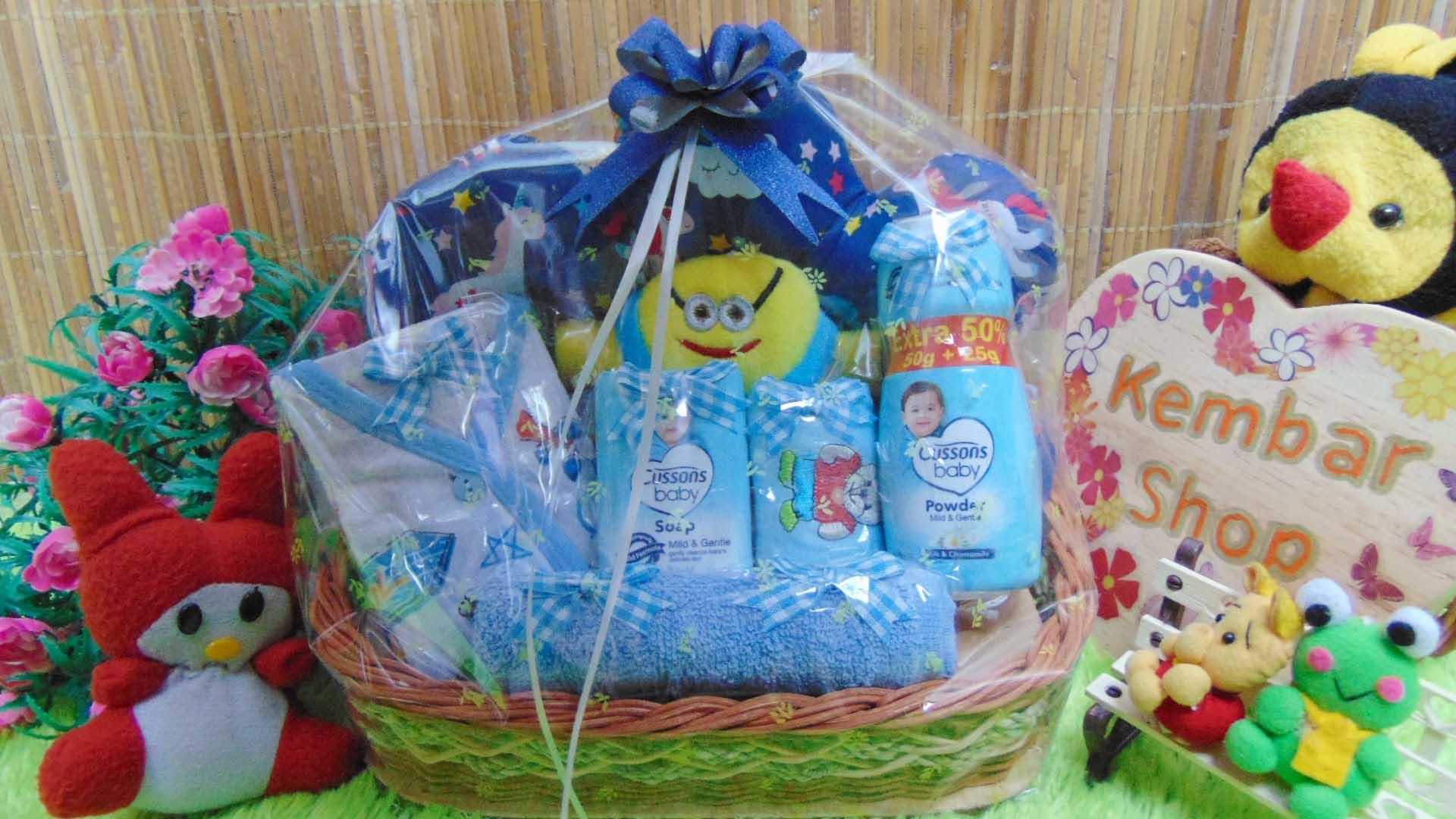 TERLARIS paket kado bayi baby gift parcel bayi parcel kado bayi kado lahiran awan komplit ANEKA WARNA (2)
