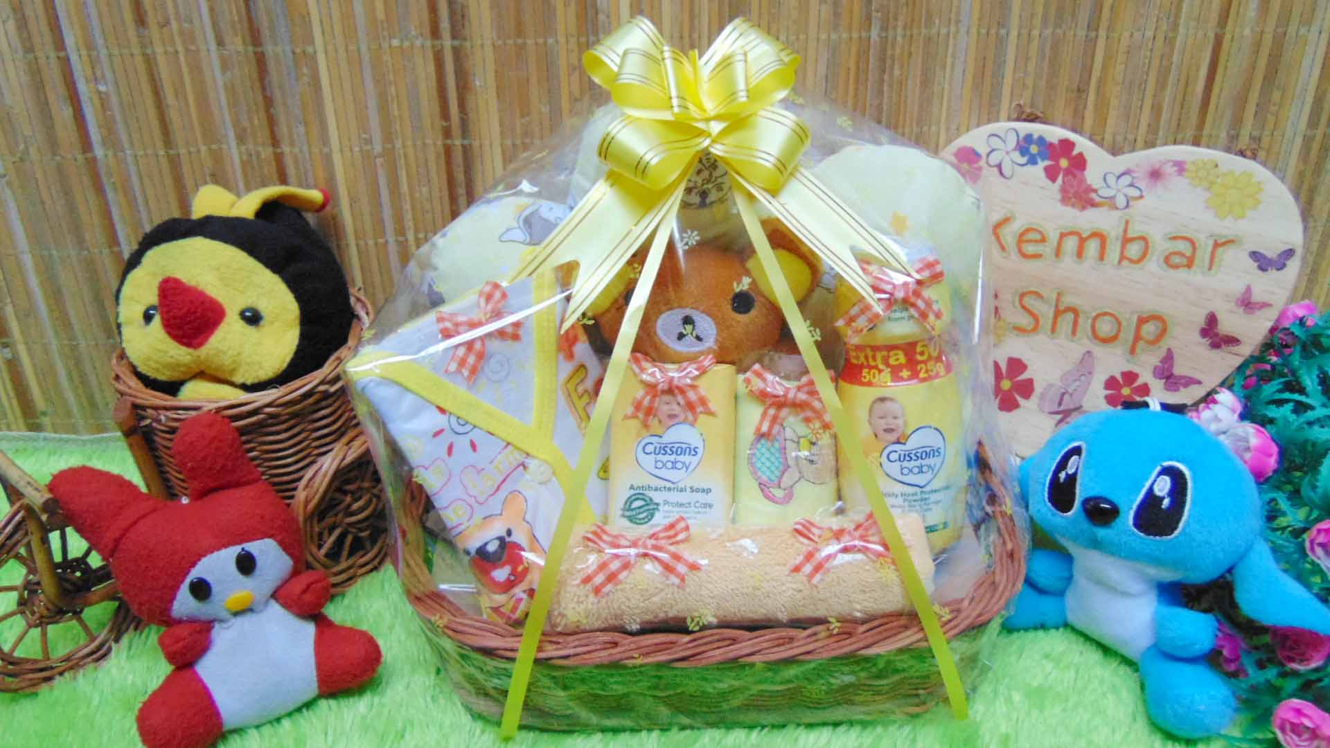 TERLARIS paket kado bayi baby gift parcel bayi parcel kado bayi kado lahiran awan komplit ANEKA WARNA (3)