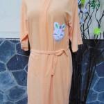 Kimono handuk jubah mandi dewasa JUMBO orange
