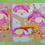 foto utama Kado Bayi Set Kasur Bayi Jumbo Lapis Perlak Motif Winnie The Pooh cokelat