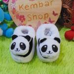 Kado bayi baby gift set sepatu prewalker alas kaki newborn 0-6bulan lembut motif Panda