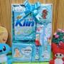 Foto Utama FREE KARTU UCAPAN Kado Lahiran Paket Kado Bayi Newborn Baby Gift Box Wipes Detergen plus Setelan Bayi