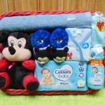 TERLARIS paket kado bayi baby gift parcel bayi parcel kado bayi kado lahiran Kotak Spesial Karakter Disney Mickey Mouse