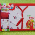 FREE KARTU UCAPAN Kado Lahiran Paket Kado Bayi Newborn Baby Gift Box Reliable Full Package Merah