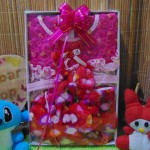 foto utama FREE KARTU UCAPAN Kado Lahiran Box Paket Kado Bayi Perempuan Cewek Baby Gift Dress Boots Bandana Nude Brokat love