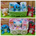 foto utama TERLARIS EKSKLUSIF paket kado bayi baby gift parcel bayi parcel kado bayi kado lahiran kereta spesial selimut carter