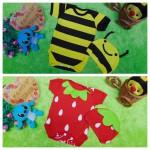 foto utama Kado bayi PLUS TOPI jumper bayi anak Jumper baby newborn 0-3bulan Aneka karakter