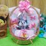 foto utama paket kado bayi baby gift kado lahiran parcel bayi parsel kado bayi keranjang tempat makan bayi tangkai handuk istimewa