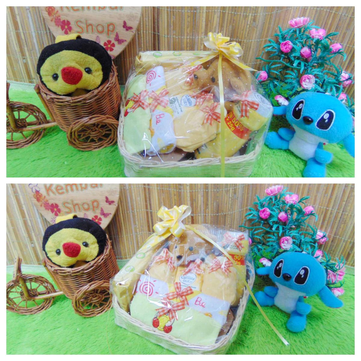 paket kado bayi baby gift kado lahiran parcel bayi parsel kado bayi keranjang wipes spesial Teddy Bear imut (2)