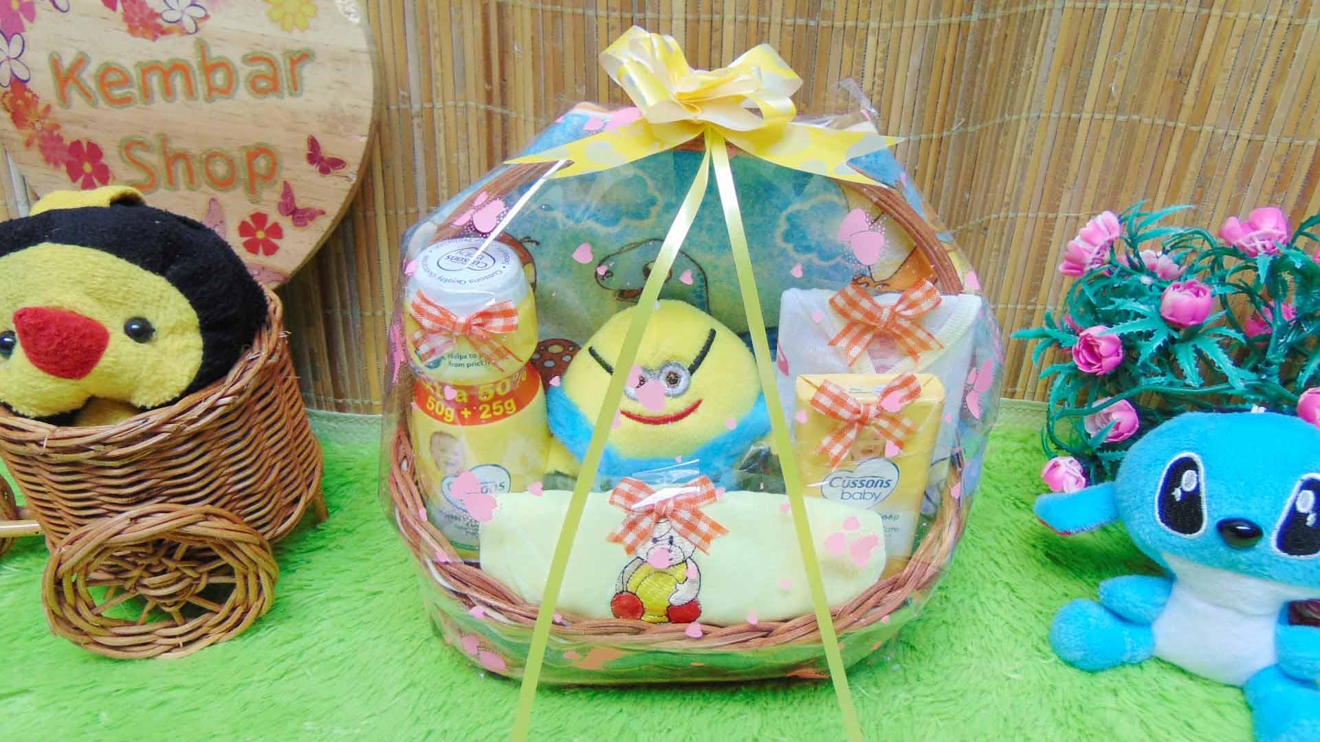 utama TERLARIS paket kado bayi baby gift parcel bayi parcel kado bayi kado lahiran TANGKAI BEDONG lucu komplit ANEKA WARNA (3)