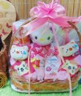 foto utama TERLARIS paket kado bayi baby gift parcel bayi parcel kado bayi kado lahiran TANGKAI mini sock ANEKA WARNA