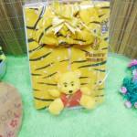 FREE KARTU UCAPAN paket kado lahiran bayi baby gift set box jaket plus boneka motif Tiger Harimau Aneka warna