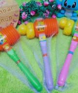 Kado Anak Mainan Anak Bayi Balita Mainan Bunyi Palu Cit Hammer Cit Bebek Lucu