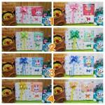 foto utama FREE KARTU UCAPAN Kado Lahiran Paket Kado Bayi Newborn Baby Gift Box Lebah Rajut Full Package Aneka Warna