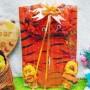 foto utama FREE KARTU UCAPAN paket kado lahiran bayi baby gift set box jaket plus boneka motif doreng harimau tiger