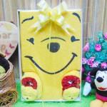 FREE KARTU UCAPAN paket kado box bayi newborn cowok laki-laki baby gift hadiah lahiran karakter Winnie The Pooh