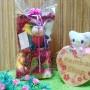 FREE KARTU UCAPAN kado bayi baby gift set selimut topi bayi bludru plus boneka (6)