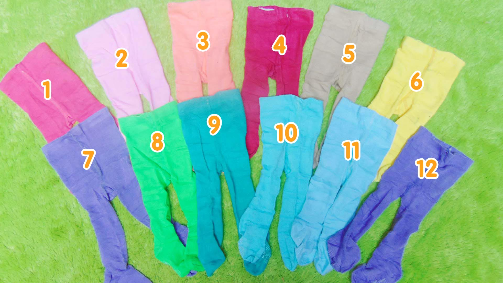 kado bayi Legging Bayi Cotton Rich Polos Carter Love Aneka Warna Tutup Kaki 0-6bulan (2) copy