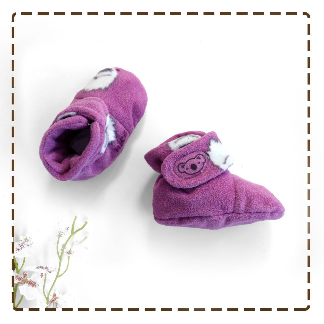 kado sepatu bayi prewalker baby newborn 0-6bulan booties cuddleme motif yeti