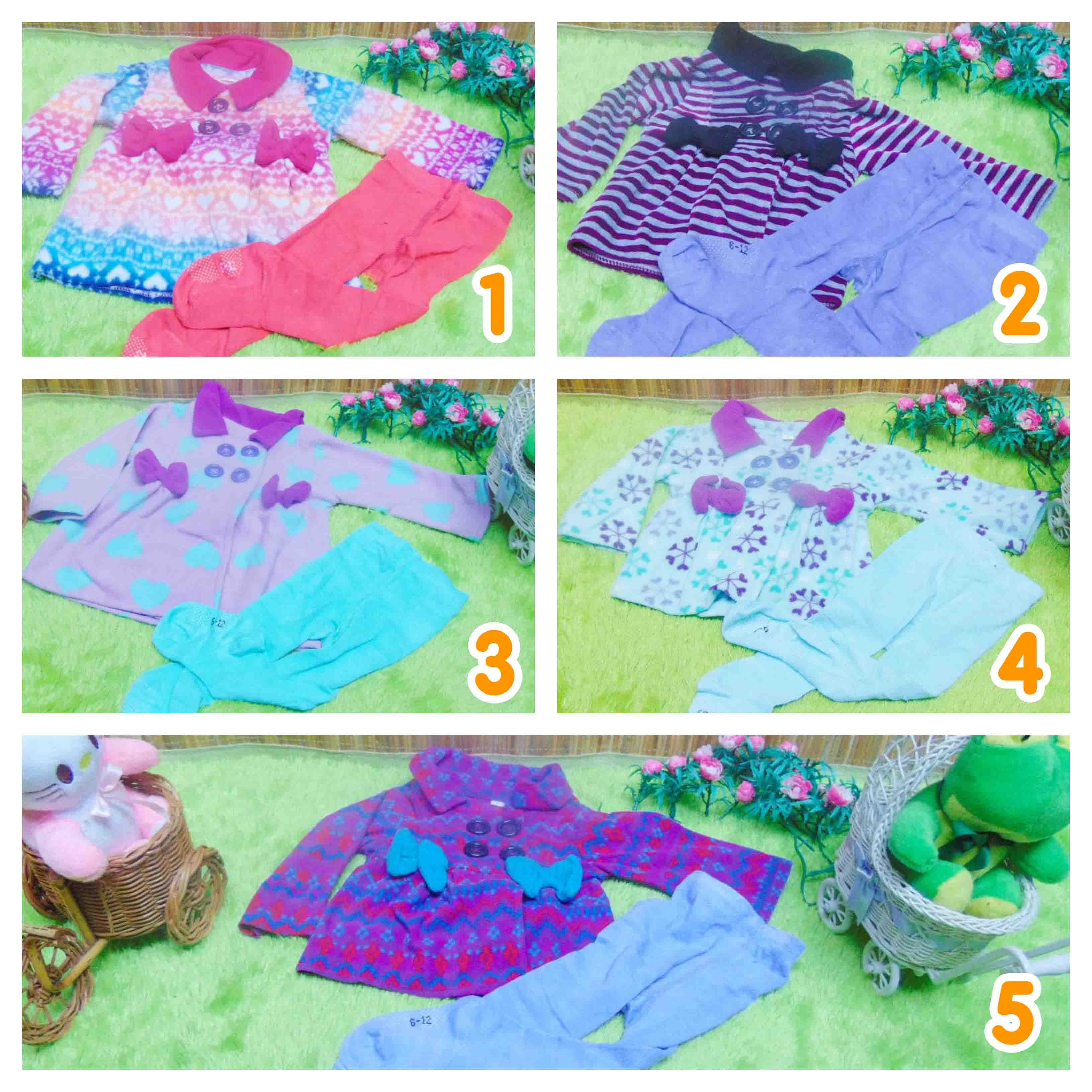 utama Hemat Mantel + Legging Baby Gift Set Kado Bayi 0-12 bulan (1)
