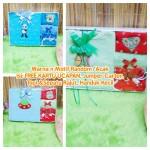 FREE KARTU UCAPAN Hadiah Baby Gift Kado Lahiran Baby Newborn Boy Laki-Laki Box Paket Kado Bayi Jumper Carter n Rajut