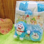 FREE KARTU UCAPAN Paket Kado Bayi Baru Lahir Gift Box Spesial Doraemon