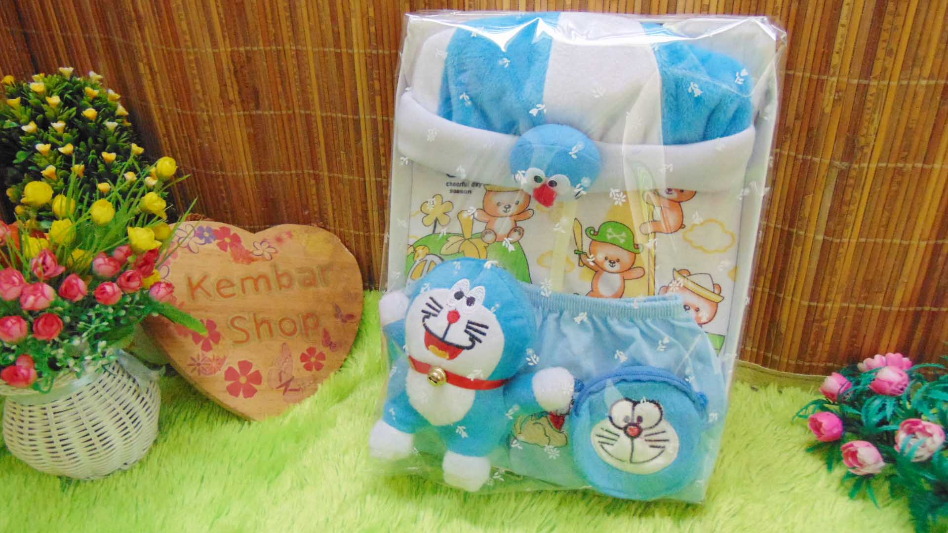 FREE KARTU UCAPAN Paket Kado Bayi Baru Lahir Gift Box