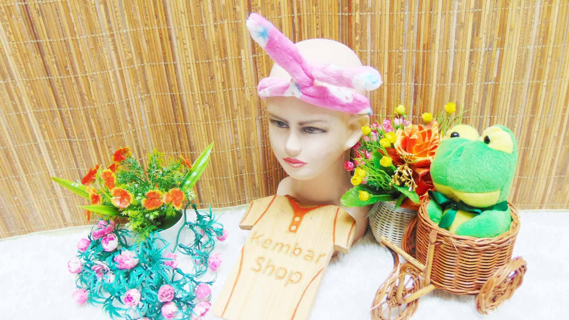 TERMURAH Bando korea Bludru Cantik Lembut warna random (1)