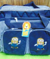 kado lahiran bayi baby gift tas perlengkapan bayi jumbo polka besar (2)