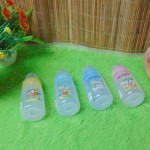 Botol Susu Dot Bayi Ninio Round Bottle Shrink 240mL  Anti Kolik Aneka Warna