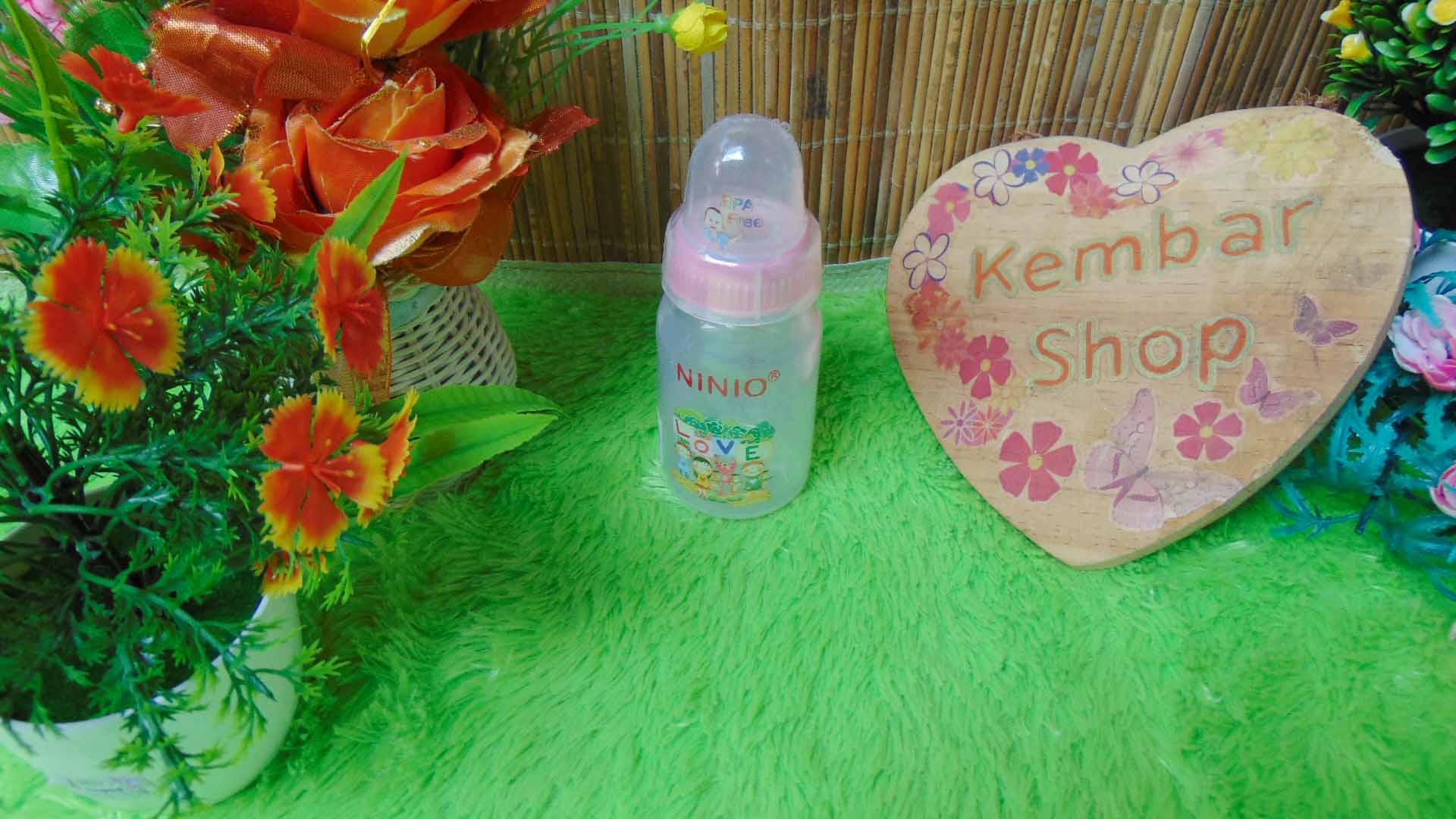 Botol Susu Dot Bayi Ninio Round Bottle Shrink 120mL (3)