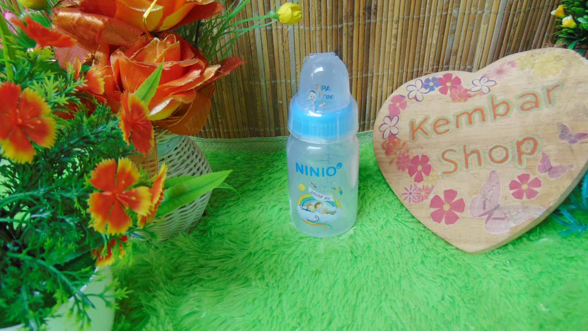 Botol Susu Dot Bayi Ninio Round Bottle Shrink 120mL (5)