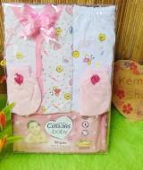 FREE KARTU UCAPAN Kado Lahiran Paket Kado Bayi Newborn Baby Gift Box Lebah Wipes (2)