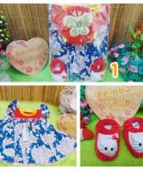 FREE KARTU UCAPAN Paket Kado Bayi Cantik Baby Gift Dress Prewalker Boneka Turban (2)