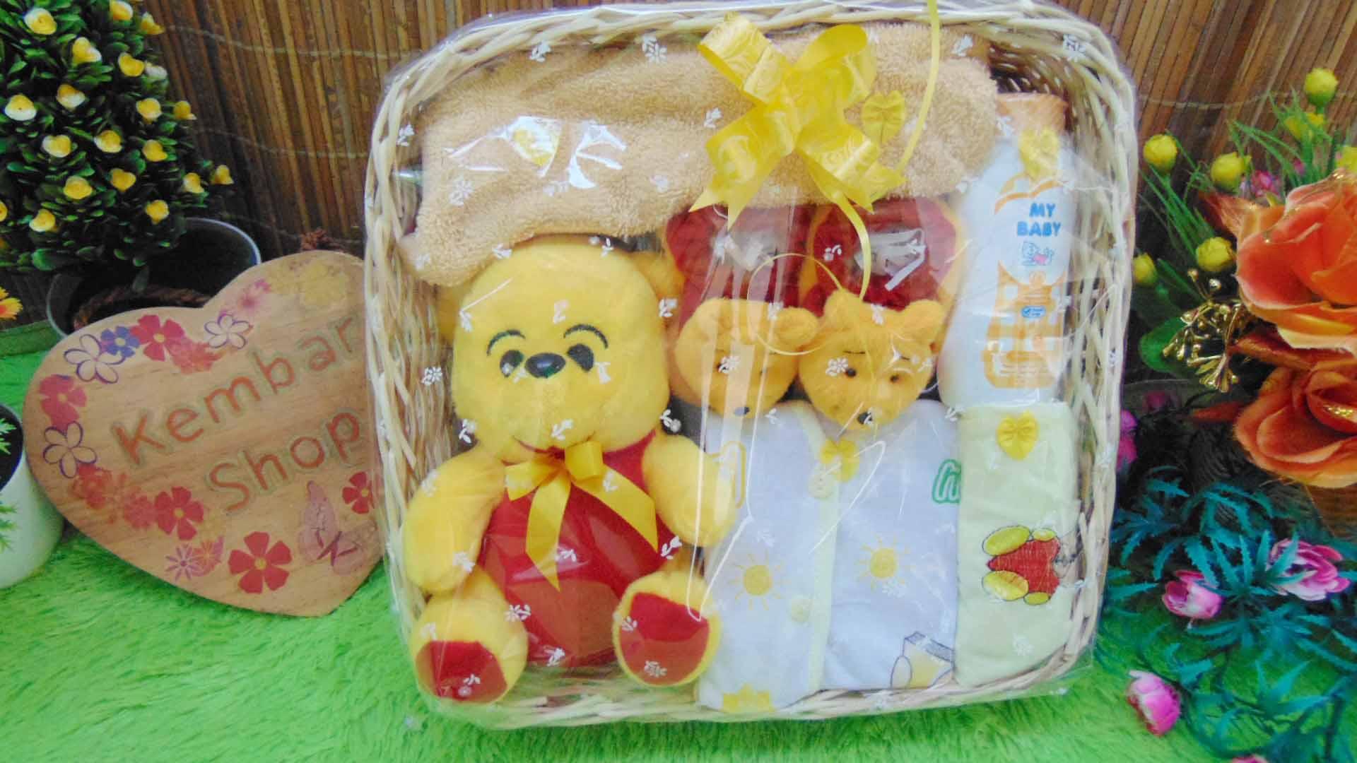 FREE KARTU UCAPAN Parcel Kado Bayi Baby Gift Rotan (3)