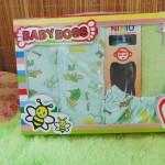 FREE KARTU UCAPAN Paket Kado Bayi 0-12bulan Setelan Plus Botol Susu Easy Hold warna random (1)